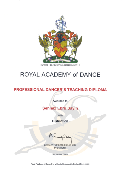 ROYAL ACADEMY OF DANCE ISTANBUL